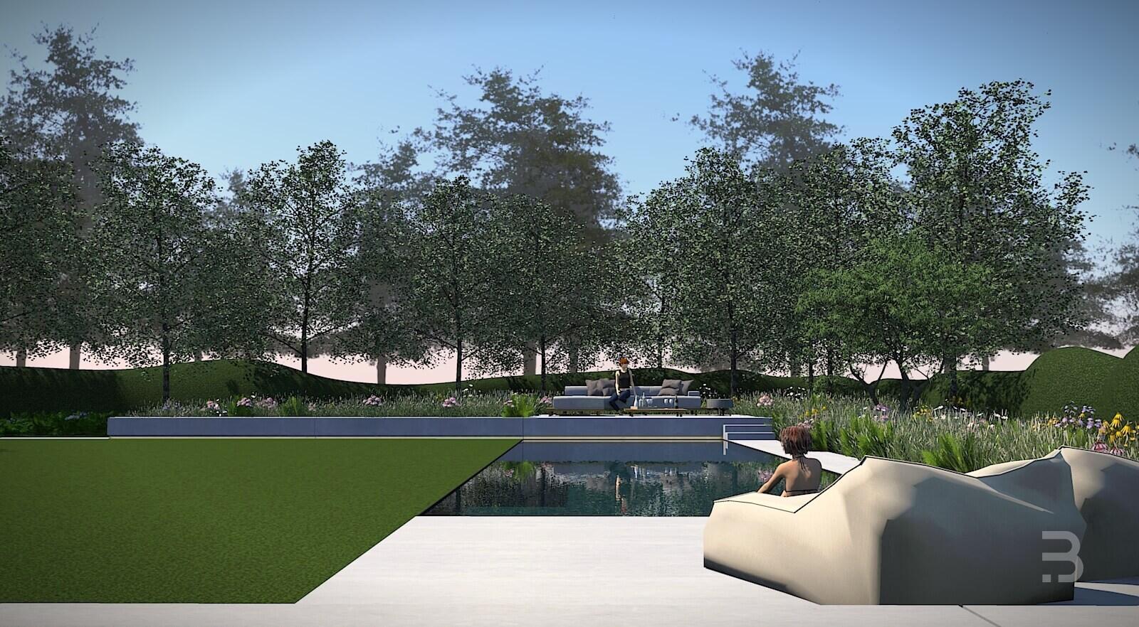 Afbeelding project Bostuin met strakke villa