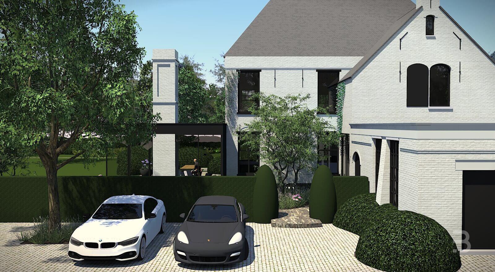 Afbeelding project Bostuin met statige villa