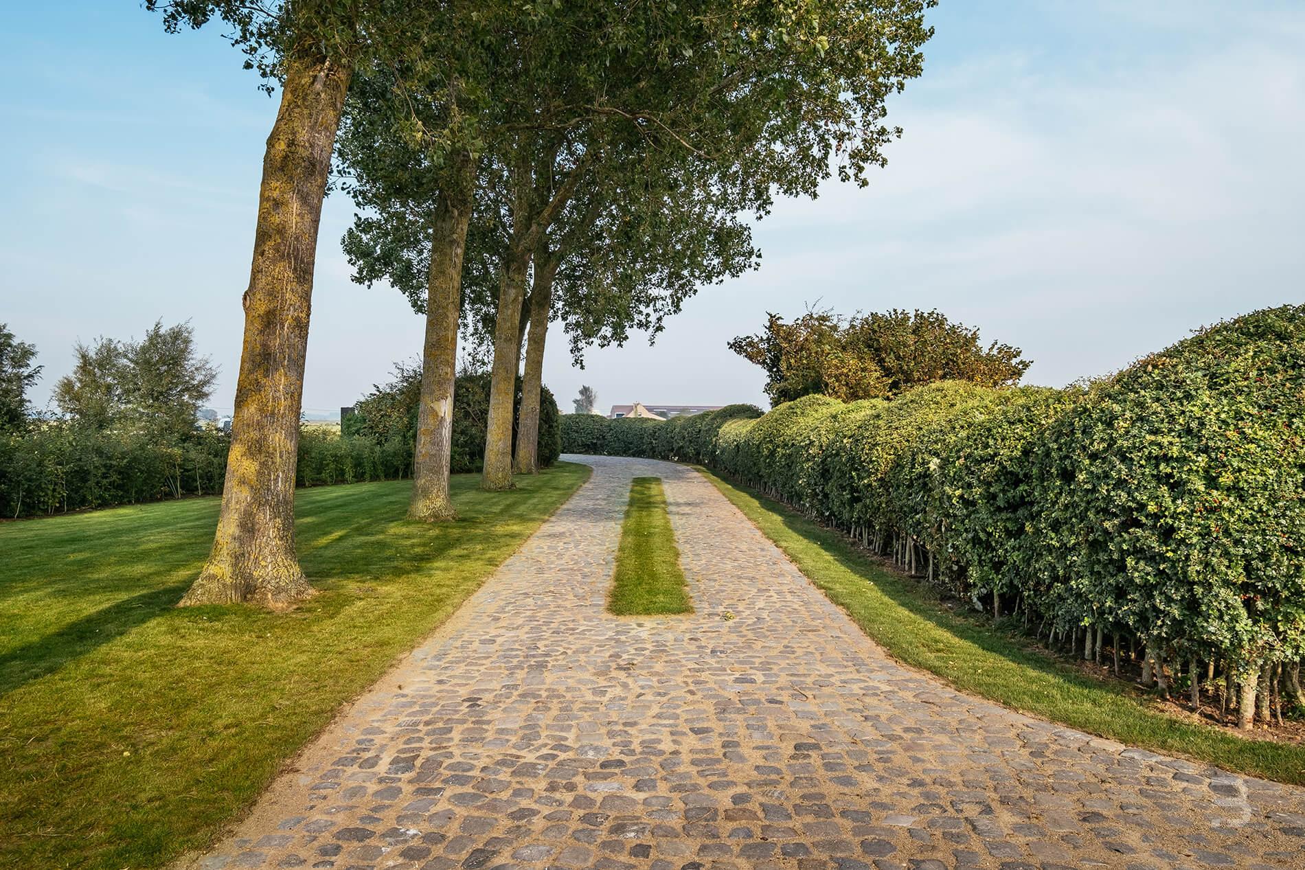Afbeelding project Hedendaagse herbouwde polderhoeve