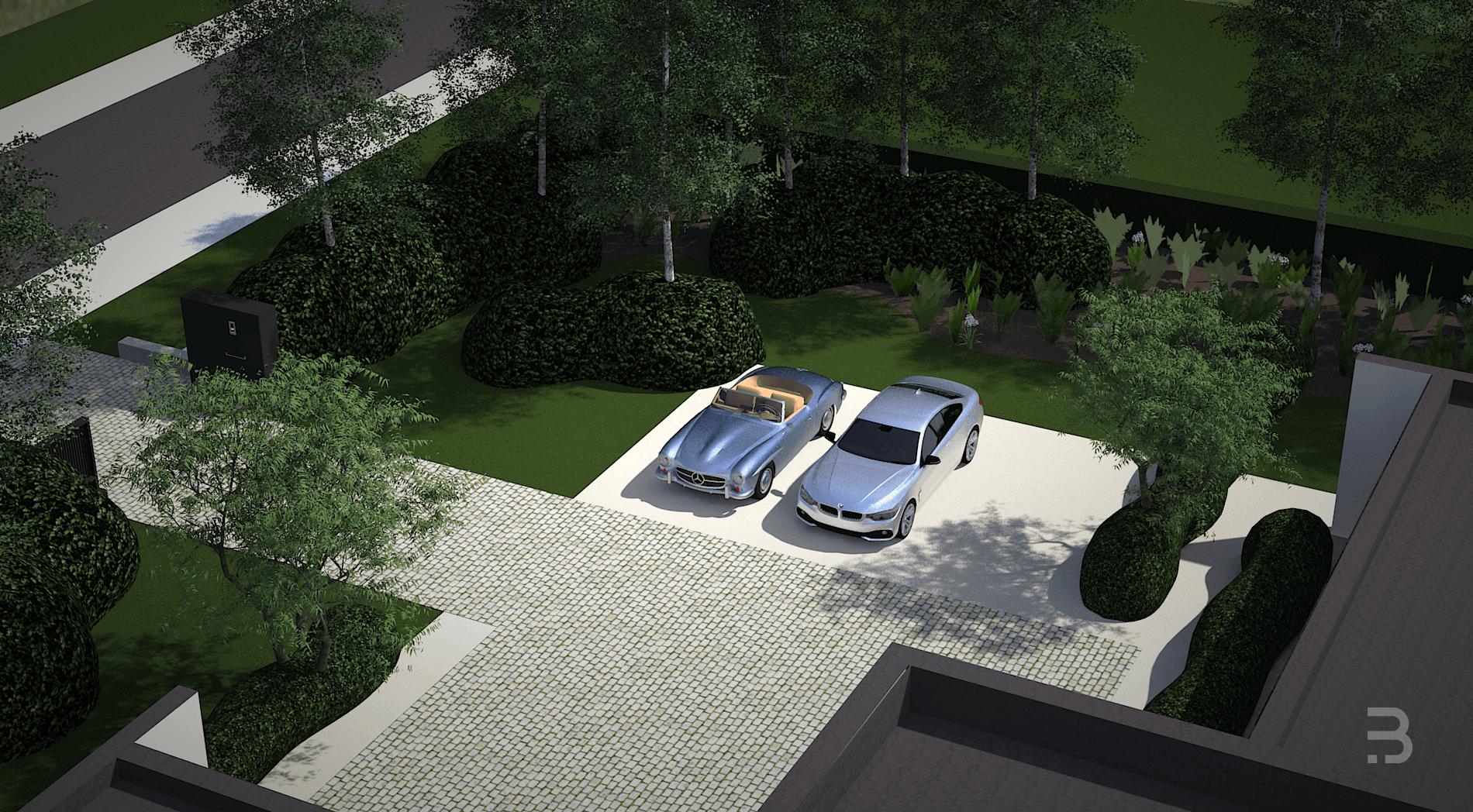 Afbeelding project Strakke villatuin