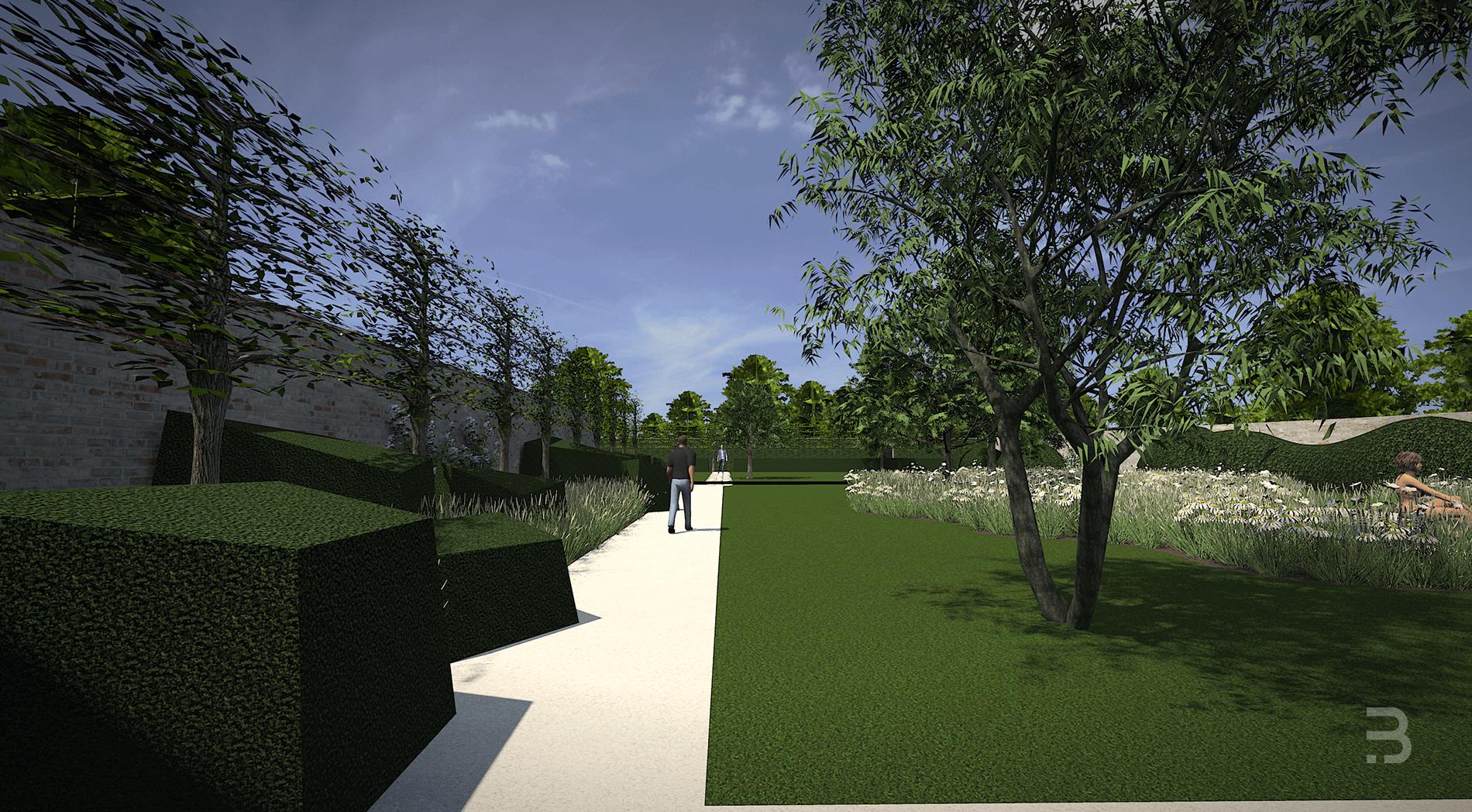 Afbeelding project Exclusieve stadstuin