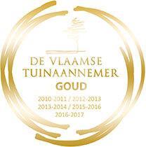 Logo Goud in De Vlaamse Tuinaannemer