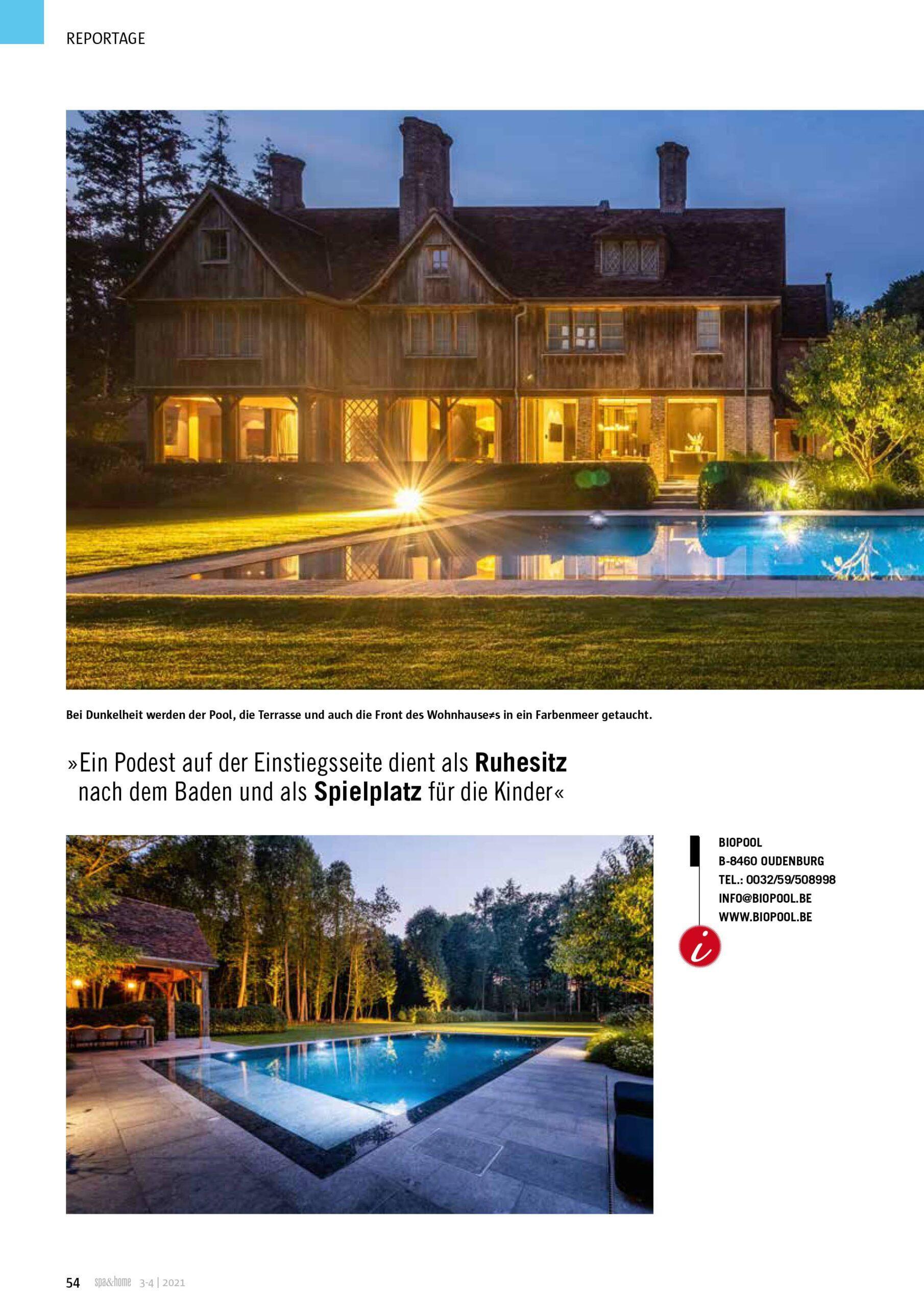 Afbeelding nieuwsitem Reportage Spa & Home
