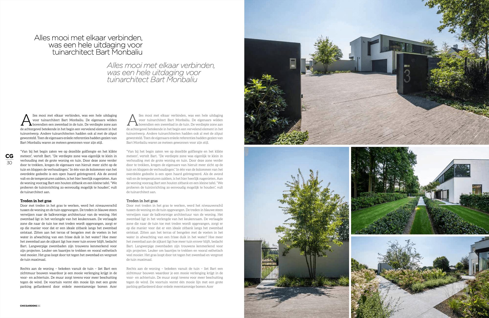 Afbeelding nieuwsitem Magazine 'Chic Gardens' – Een unieke locatie