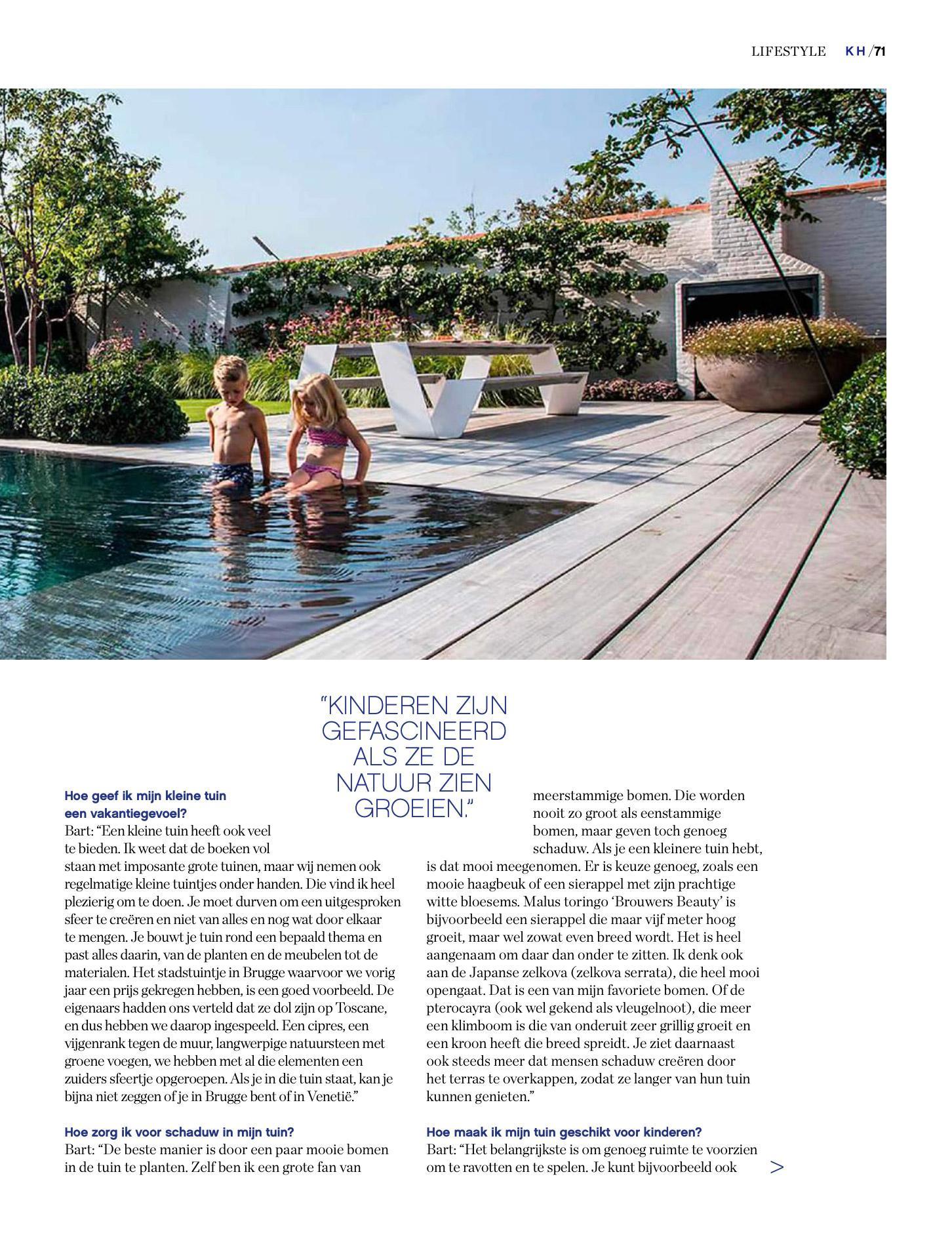 Afbeelding nieuwsitem KH – Vakantie in je eigen tuin